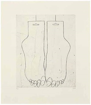 feet by louise bourgeois