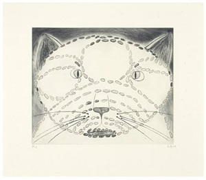 the angry cat by louise bourgeois
