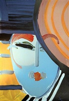deco lady by peter max