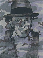 joseph beuys in memoriam by andy warhol