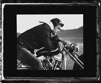 brad pitt (motorcycle) by timothy white