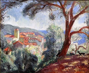 ramatuelle by charles camoin