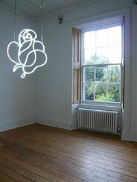 untitled (white rose) by cerith wyn evans