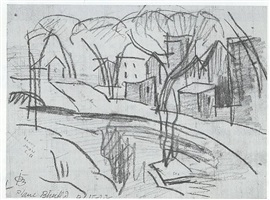 bloomfield, new jersey by oscar florianus bluemner