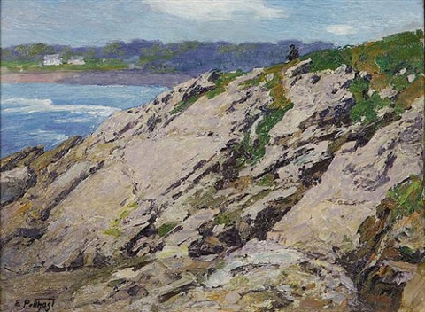 looking out to sea by edward henry potthast