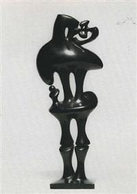 l'homme à l'oiseau by agustin cárdenas