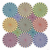 untitled (peripheral drift illusion) by ryan mcginness