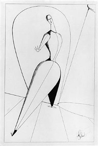 dancer by oskar schlemmer