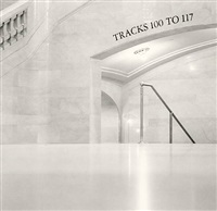 tracks 100 to 117, grand central station, new york, usa by michael kenna