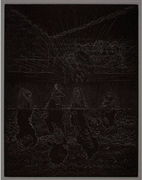 guardian of the veil: sons of horus by matthew barney