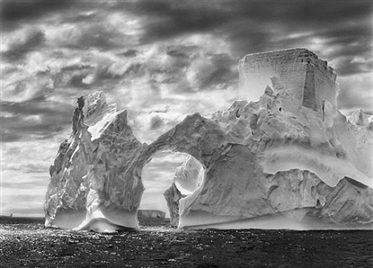 iceberg between paulet island and the shetland islands by sebastião salgado