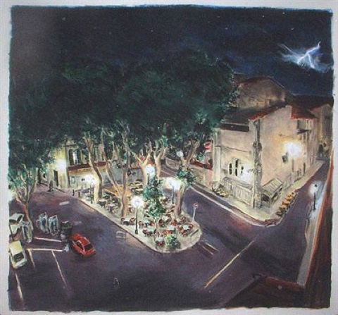 night arles by james romberger