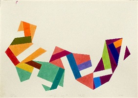 study for murs by mel bochner