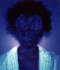 untitled (blue #1) by lyle ashton harris