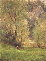 near the delaware water gap by george inness