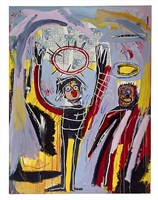 humidity by jean-michel basquiat