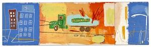 gastruck by jean-michel basquiat