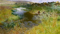 the brightness of the summer sun (sold) by nikolai alexandrovich sergeev
