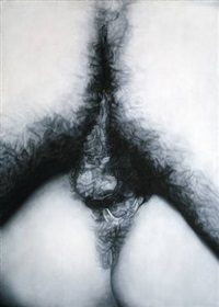 fuck painting #9 by betty tompkins