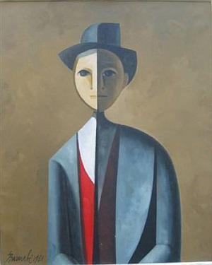 portrait by duilio barnabé