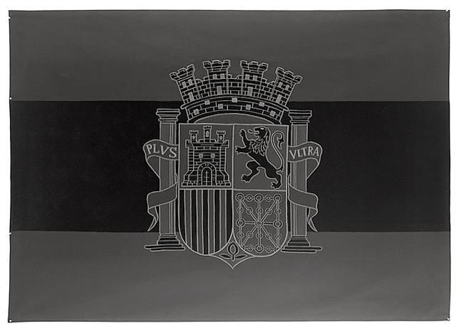 flag by santiago sierra