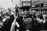 senator robert kennedy at a rally in sioux city, iowa 1966 by bill eppridge