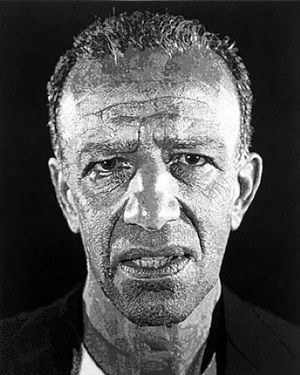 alex - reduction print by chuck close