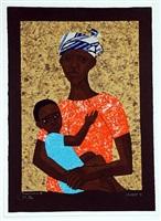 madonna ii by elizabeth catlett