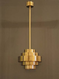 hanging lamp by jules wabbes
