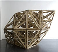 lattice (wood) by conrad shawcross