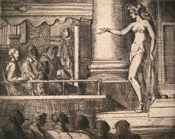 striptease in new jersey by reginald marsh