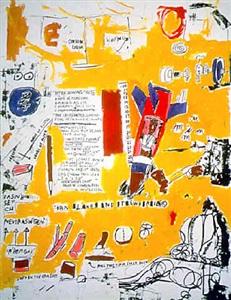 m.t. by jean-michel basquiat
