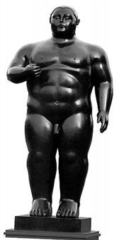 adam by fernando botero