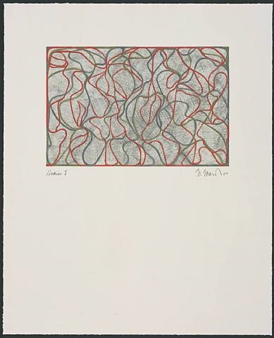 distant muses © gemini g.e.l. and the artist by brice marden
