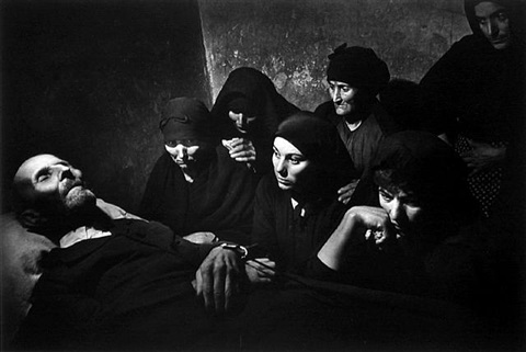spanish wake, spanish village by w. eugene smith