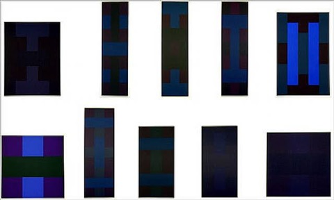 untitled (10 screenprints) by ad reinhardt