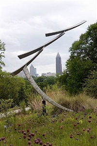 sculpture in motion, art choreographed by nature curated by sculpturesite gallery by jeffery laudenslager