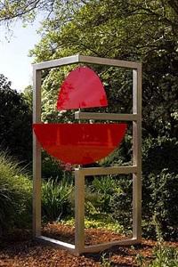 split disk in rectangular frame by roger phillips