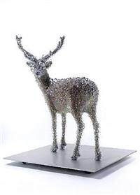 pixcell-deer#5 by kohei nawa