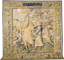 a brussles renaissance bibilical tapestry (tpy 1)