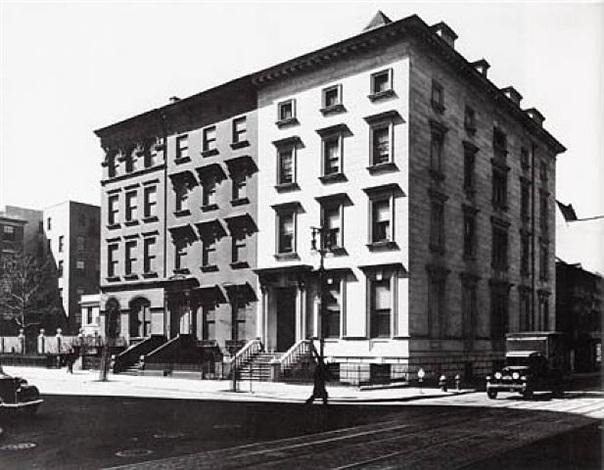fifth avenue houses, new york by berenice abbott