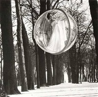 in trees, paris by melvin sokolsky