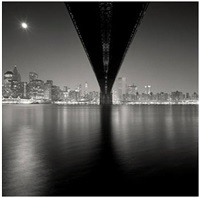 brooklyn bridge, study 2, new york by michael kenna