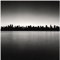 manhattan skyline, study 1, new york by michael kenna