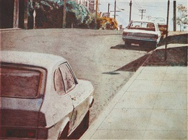 20th street capri by robert bechtle
