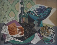 nature morte aux jolies dentelles by gino severini