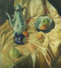 still life (russia) by eugene berman