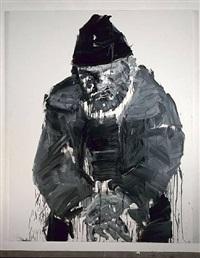 mendicants by yan pei ming