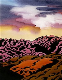 mountains of new mexico by ken price