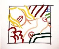 new bedroom blonde doodle by tom wesselmann